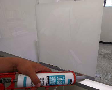 Наклейка смарт пленки на стекло