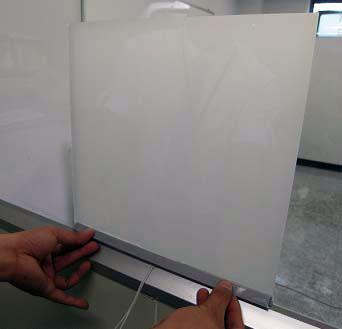 Смарт-пленка на стекле